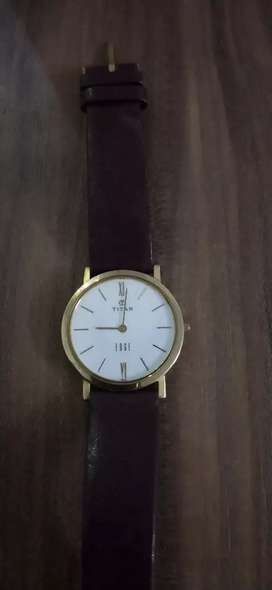 Titan Edge (Ultra slim watch) brand new condition available with bill