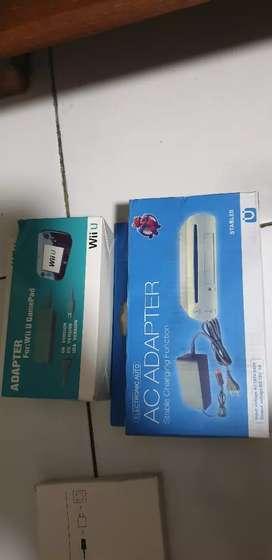 Adaptor konsol dan gamepad nintendo wii u