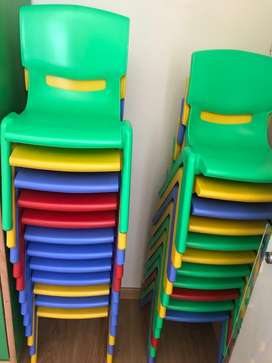 Playgro Kids Chairs and Tables for Play school for sale