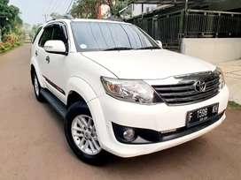 Bismillah Dijual Toyota Fortuner 2.7 G LUX AT th2013 Mulus Like New