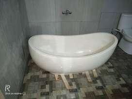 READY Bathtub terazzo unik tipe Perahu Kualitas High Prmeium P140cm