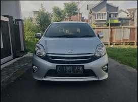 Dp 13 jt.! Kredit murah Toyota Agya G manual 2014 new look.!!