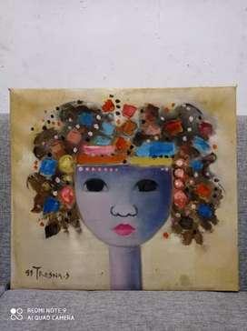 Lukisan wanita karya Tresna s tahun 1999