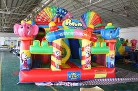 wahana mainan pancingan elektrik NV istana balon
