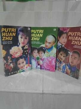 Buku Novel Putri Huan Zhu