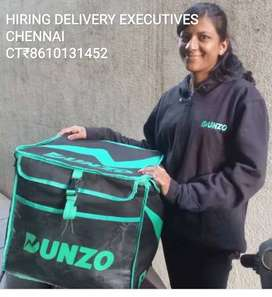 DUNZO HUGE WANTED FOR DELIVERY EXECUTIVES