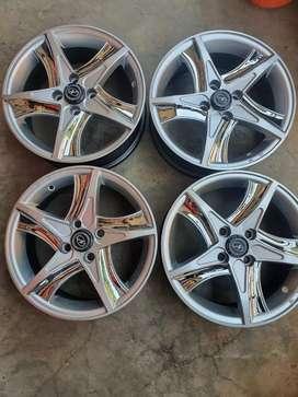 "15"" SWIFT alloy wheels 4pcs"