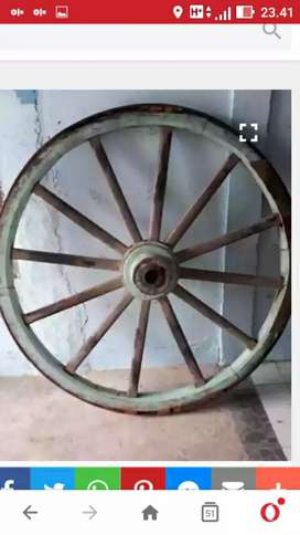 Roda pedati jaman penjajahan