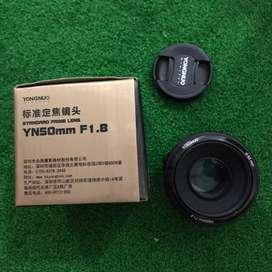 Lensa YongNuo EF 50mm f/1.8
