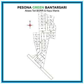 Tanah Kapling Bogor, Dekat Jl. Yasmin Jawa Barat