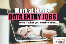 Home based job simple typing work, *No Experience require