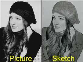Sketches   Portrait   Hand Made
