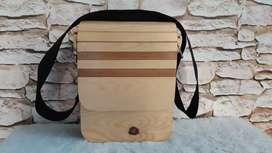 Tas kayu slempang unik