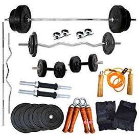 home gym equipment set