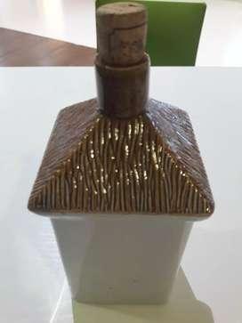 Botol keramik eropah jadoel antik