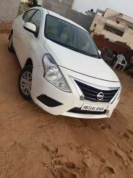 Nissan Sunny 2014 Diesel Well Maintained
