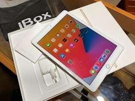 iPad generasi 5 128gb gold wifi cell ibox