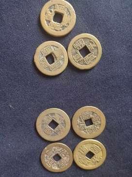 Uang koin bolong kuno ori