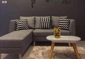 Sofa L keren kekinian