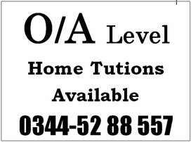 Home Tuitions [1 to 9/10, Fsc, BA/Bsc] free Trial classes