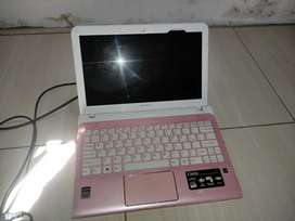 Notebook sony mati total