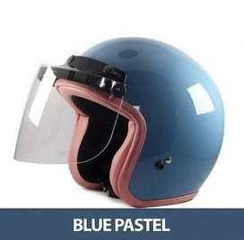 Helm bogo Blue pastel