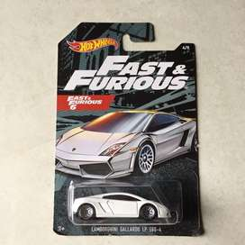 Hot wheels / Hotwheels Lamborghini Gallardo Fast And Furious
