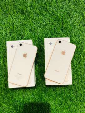 iPhone 8 - 64 GB - Gold color - full kit - complete condition