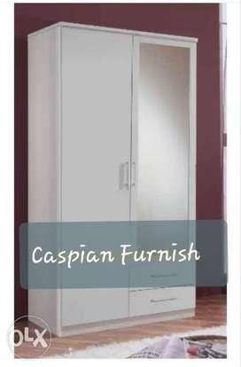 2.8 # New 2 door wardrobe in plain white finish