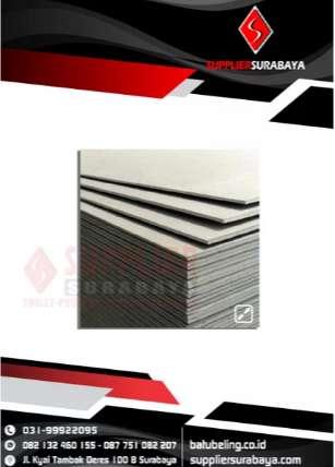 Supplier Plafon Gypsum Berbagai Series