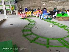 Jual Odong odong Robocar kereta lantai mini coaster promo DCN