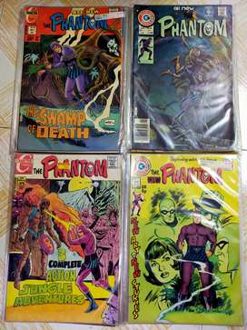 rare vintage phantom comic books foreign imported mint condition