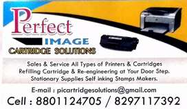 Printer Cartridge Refilling and Re-Engineering at Door Step Services