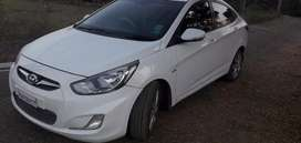 Want to sell my verna fluidic well maintained