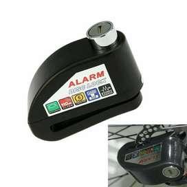 Kunci Disk Cakram Alarm Anti Maling Gembok Disc Lock Motor Sepeda ID23