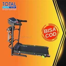 treadmill elektrik tl 246 treadmil 1,5 hp total COD Cilacap