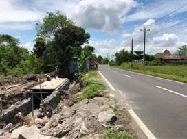 Tanah Pinggir Jalan Raya Akses Kilat Tol Jogja Solo