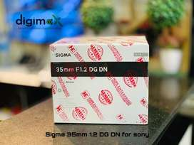 35mm f1.2 DG DN box packed with warranty