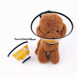 Corong collar pelindung leher anjing kucing bisa COD