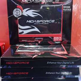 SSD 120GB Midasforce Upgrade Hardisk, HDD Komputee PC Destkop / Laptop