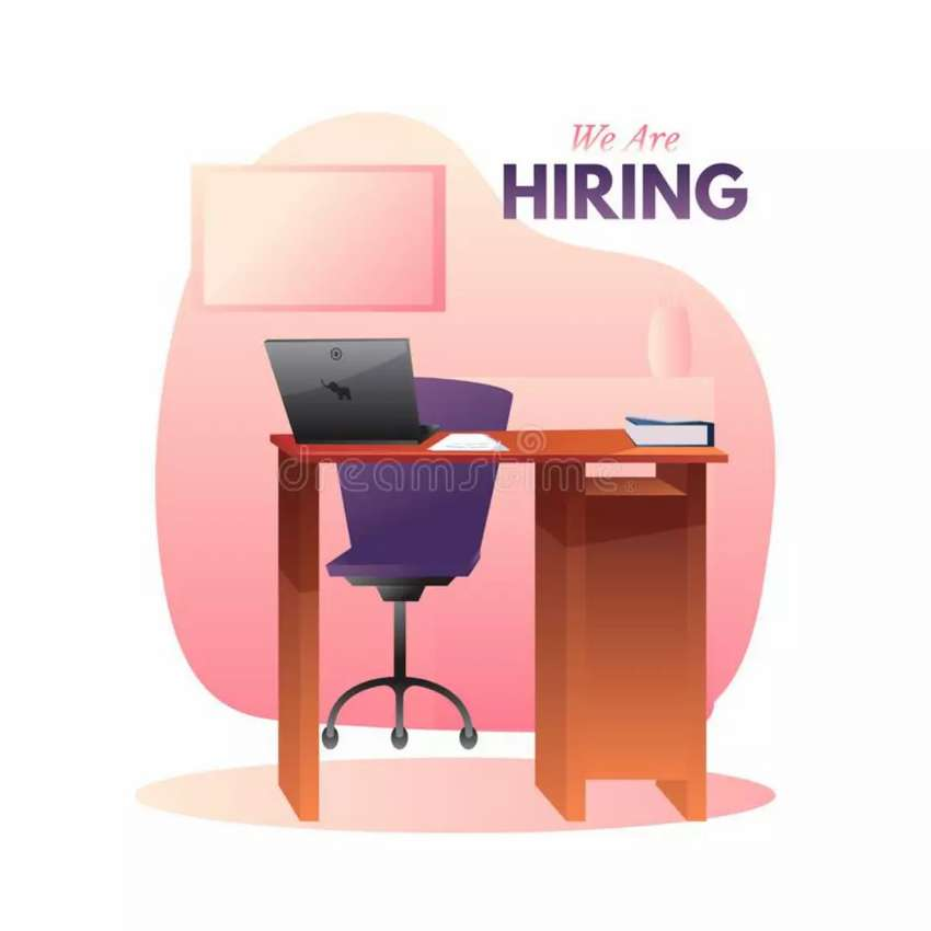 Urgently need staff for New office 0