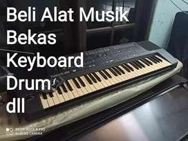 Di cari keyboard seken area Ciputat dll