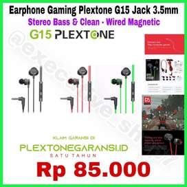 PLEXTONE Earphone Berkabel - Wired Original 100% Garansi 1 Tahun