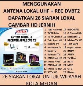 Antena TV Digital HD STB DVB-T2 MATRIX  Gambar Cling dan Bening HD