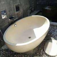 Bathtub Bali Terazzo Tipe Oval