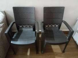 Plastic chairs-  Per pcs