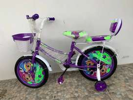Sepeda anak perempuan phoenix 16 inch