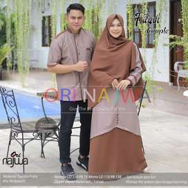 Couple gamis fitra