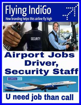 Hiring in Airport Driver and Security Staff