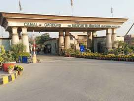 02 Marla Corner Commercial Plot For Sale in Canal Gardens Lahore.